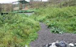 В деревне Копылова к роднику проложили полиэтиленовые трубы для водоснабжения