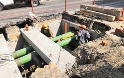К началу августа в Белгороде проложат новые полиэтиленовые трубы