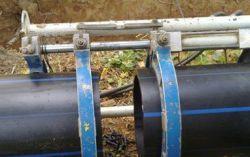На Калужском водоканале учатся варить полиэтиленовые трубы