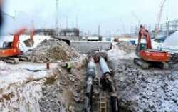 На площадке СИБУРа под Тобольском завершена укладка полиэтиленовых труб для водоснабжения
