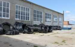 В Каслинском районе запущен мини-завод по производству ПЭ труб