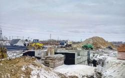 На площадке ТОР «Хабаровск» ведутся масштабные работы по монтажу ПЭ труб для водоснабжения