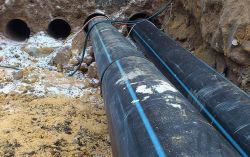 В Туртасе проложили новый водопровод из полиэтиленовых труб